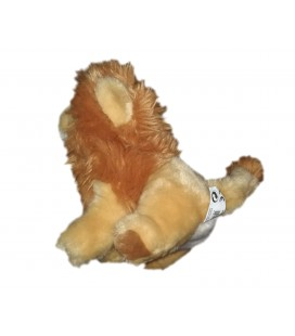 Peluche doudou Lion beige marron Playkids 20 cm