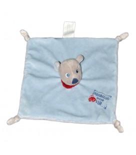 Doudou plat chien bleu gris IN-CART VIB Kimbaloo La Halle