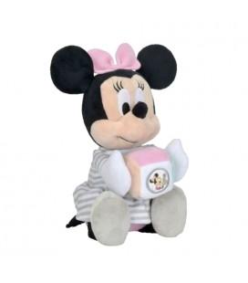 NICOTOY Disney Doudou Peluche Musicale Minnie Playtime 23 cm Cube De