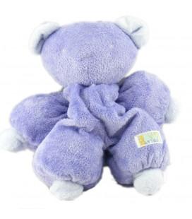 Doudou ours mauve lavande violet 27 cm Tartine et Chocolat