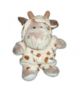 Peluche doudou Hippopotame Deguise girafe Planet Pluch Jemini 21 cm