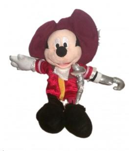 Peluche doudou Mickey Capitaine Crochet 25 cm Disneyland Disney