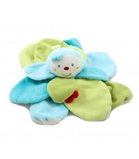 Doudou Coccinelle Les diabolos bleu vert Baby Sun