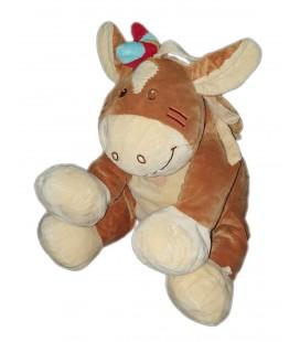 Doudou peluche cheval indien Noukies Kaya et Pinto Gd Mod 32 cm