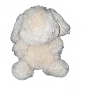 Peluche doudou Lapin blanc Jellycat assis 18 cm