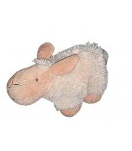 Peluche doudou mouton blanc Le Petit Prince 22 cm COTTON BLU