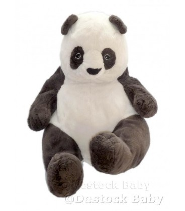 doudou klappar panda noir et blanc ikea peluche 40 cm ikea sans etiq tissu. Black Bedroom Furniture Sets. Home Design Ideas