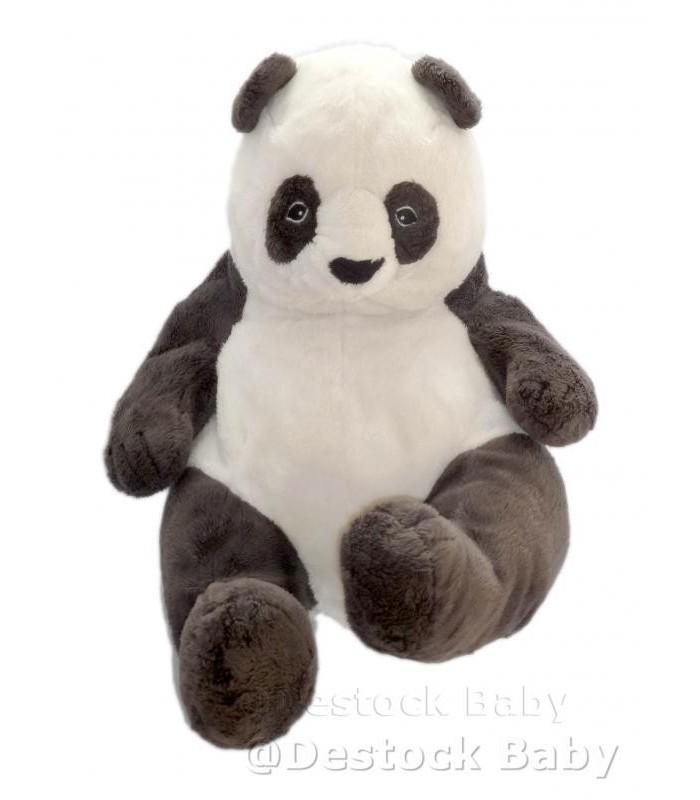doudou klappar panda noir et blanc ikea peluche 40 cm ikea sans etiq tissu. Black Bedroom Furniture Sets. Home Design Ideas