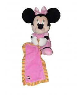 Peluche doudou Minnie Mouchoir couverture 30 cm Disney Nicotoy