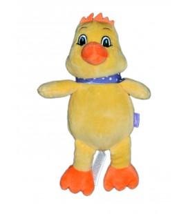 Peluche doudou canard poussin Milka 25 cm