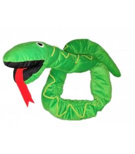 IKEA Doudou peluche Marionnette Serpent vert IKEA 1m80