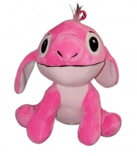 Peluche doudou Stitch rose PTS SRL A suspendre assis 22 cm