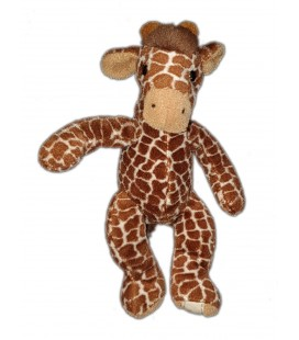 Doudou peluche Girafe marron Sam Anna Club Plush 20 cm