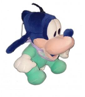 Peluche Dingo Baby Goofy assis 16 cm Disney Nicotoy Bleu vert Turquoise
