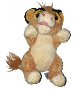 Doudou peluche Roi Lion Simba Disney Nicotoy Sans couverture 22 cm