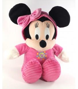 Grande peluche doudou MINNIE Pyjama Capuche rose combinaison Disney Nicotoy 50 cm