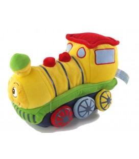 Peluche doudou Train jaune Gipsy 25n cm