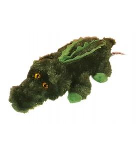 Peluche Doudou Crocodile vert Aurora 28 cm