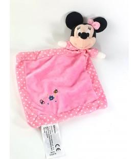 Doudou plat Minnie rose Coccinelle pois Disney Nicotoy Simba