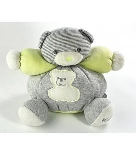 Kaloo Doudou Petit Ours gris vert 18 cm