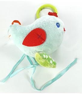 Doudou d'activite Eveil Oiseau poussin bleu Kaloo