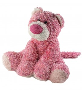 Peluche Doudou Ours rose assis 28 cm Anna Club Plush