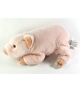 Peluche Doudou Couchon rose 28 cm Anna Club Plush