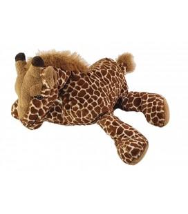 Peluche Doudou Girafe marron 26 cm Anna Club Plush
