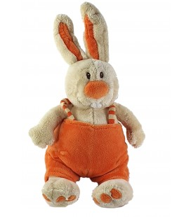 Peluche Doudou Lapin orange 32 cm Anna Club Plush