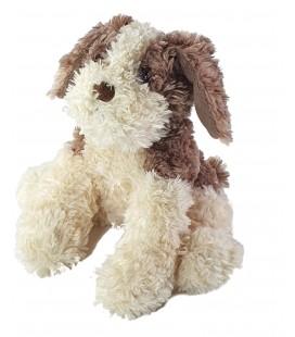 Peluche Doudou chien blanc écru beige Anna Club Plush 22 cm