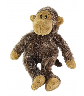 Peluche Doudou singe marron 32 cmAnna Club Plush