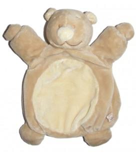 Doudou Marionnette Ours beige Tonton Noukies