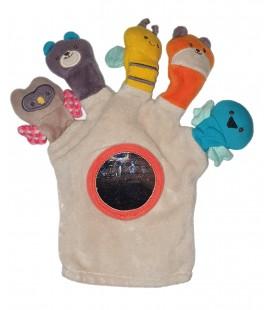 Doudou gant marionnette animaux Nature et Decouvertes