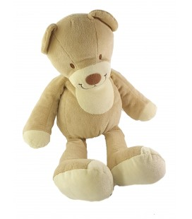 Peluche doudou Ours beige Nicotoy 40 cm 589/0601