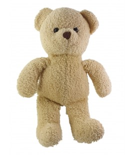 Peluche doudou Ours beige Nicotoy 38 cm