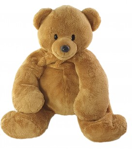 Peluche doudou Ours marron Nicotoy 35 cm The classic collection