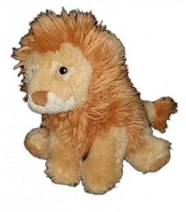 Peluche doudou Lion beige marron Playkids 22 cm
