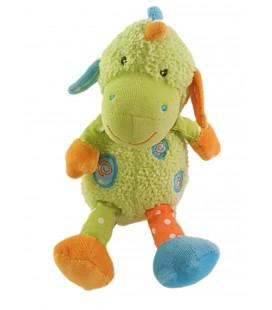 Doudou Dragon Vert 18 cm Babysun
