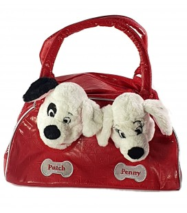 Collector - Doudou peluche Sac a main Chiots Penny Patch 101 Dalmatiens Disney Store