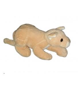 Peluche doudou Tigre beige Playkids 28 cm