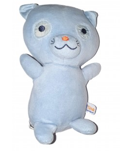 Doudou chat bleu Tino 18 cm Sucre d Orge