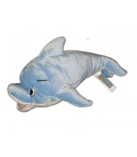 Doudou Peluche Flipper le Dauphin bleu 30 cm Lopaka Ajena Nounours 1999