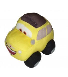 CARS Peluche Voiture jaune Luigi Disney Nicotoy 16 cm