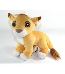 Peluche doudou Simba Roi Lion Nez Aimante 22 cm Authentic Disney Mattel 1993