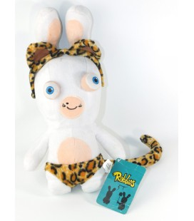 Peluche Lapin Cretin Leopard 32 cm Play by play