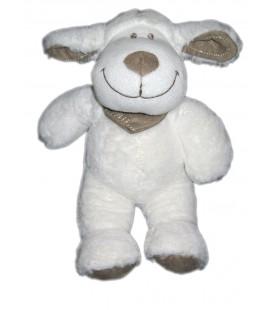 Peluche doudou Mouton agneau Blanc Tex Baby 25 cm