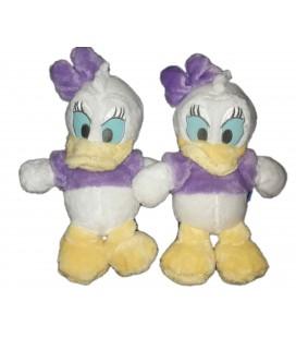 Lot de 2 Peluches doudou Daisy Floppy 32 cm Disney Nicotoy