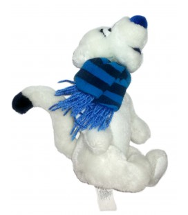 Peluche Doudou Tigrou Blanc Echarpe bleue 28 cm Walt Disney Store