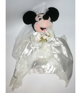 Peluche Minnie Mariee Disneyland Paris 35 cm