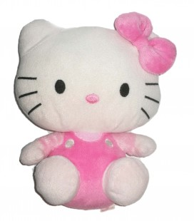 Peluche Hello Kitty Rose 22 cm Sanrio TY